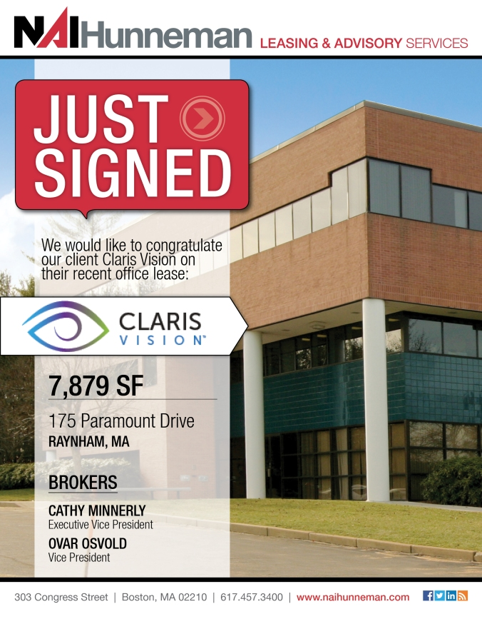 Claris Vision-Just Signed