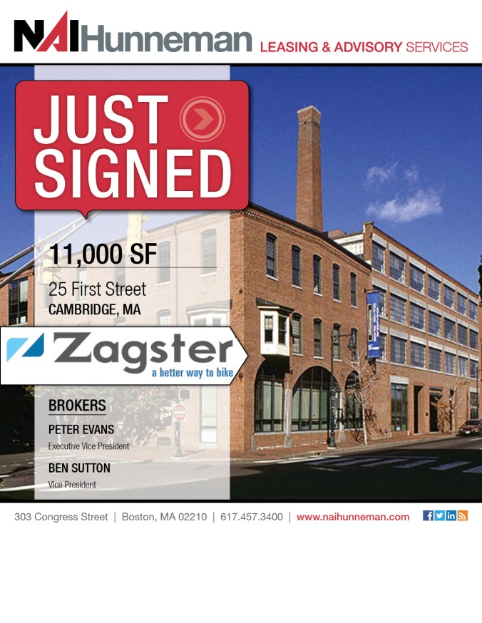 Zagster-Just Signed